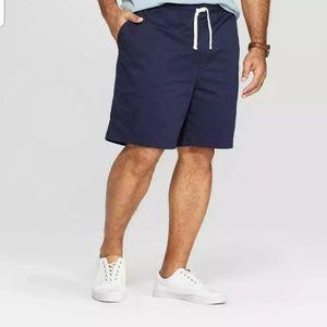 Men's Big & Tall Chino Shorts - Goodfellow & Co Xa